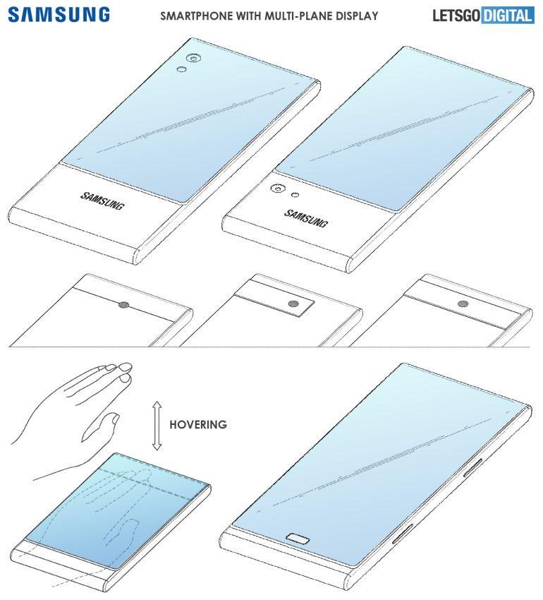 samsung patents wraparound display 1