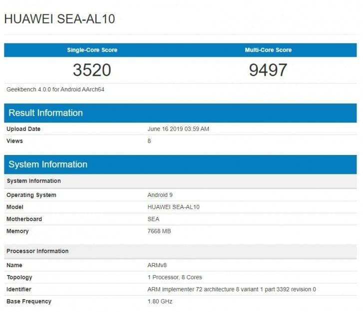 Huawei Nova 5 series 32MP 2 1
